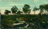1910 Wetzel's Cave postcard. OCPL Archives.