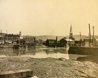In 1888 the stone bridge over the creek on Main Street collapsed. It was replaced by the present stone bridge.