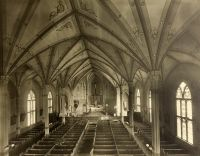The interior of old St. Joseph Cathedral.