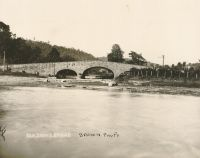 Stone Bridge at Elm Grove. It was remodeled several years ago and the fine lines were destroyed. It is still in use.