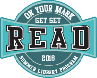 On Your Marks, Get Set, Read... 2016 Adult Summer Reading Program