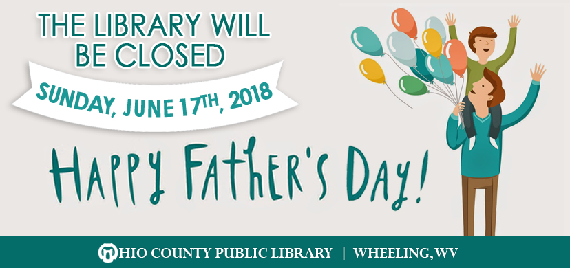 OCPL Closed Mother's Day, 2018