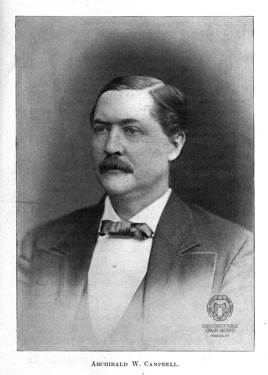 Archibald Campbell. Image from the publication The Rending of Virginia, 1902.