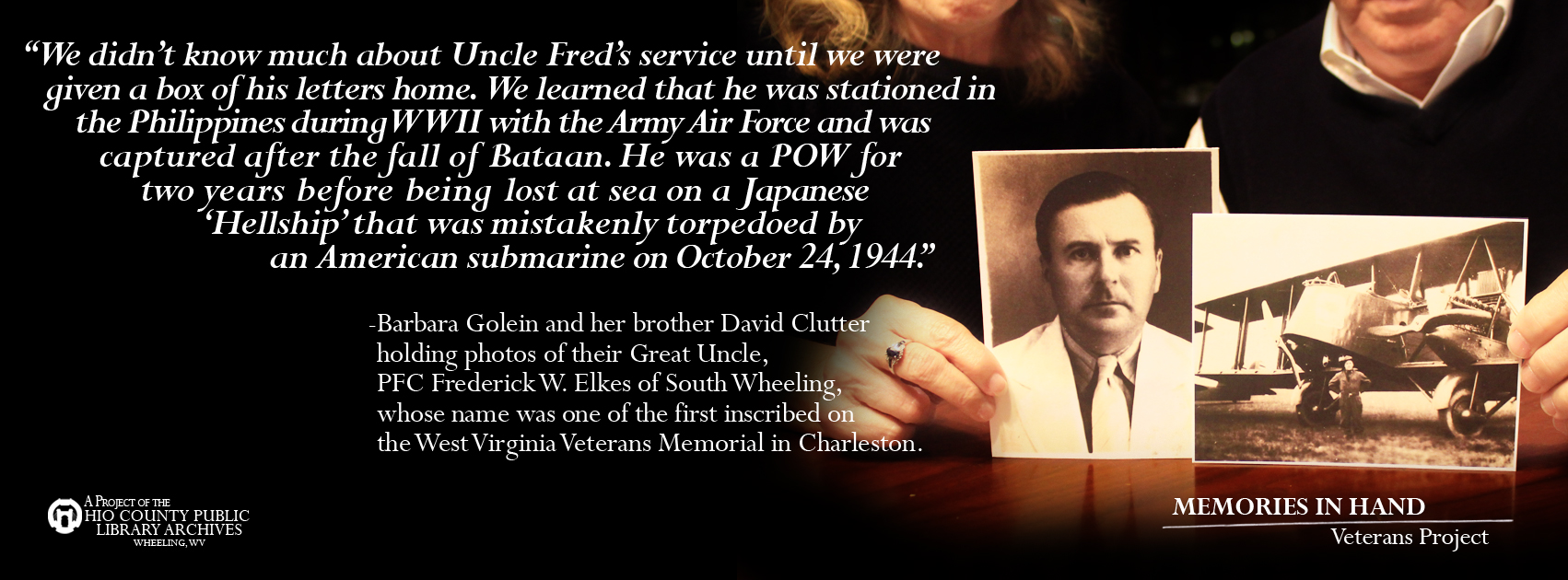 Freddie Elkes, U.S. Army Air Force, World War II