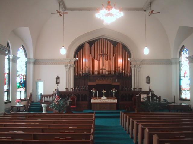 St. John's United Church of Christ, 41 22nd St, Wheeling, WV, Interior View, 2004