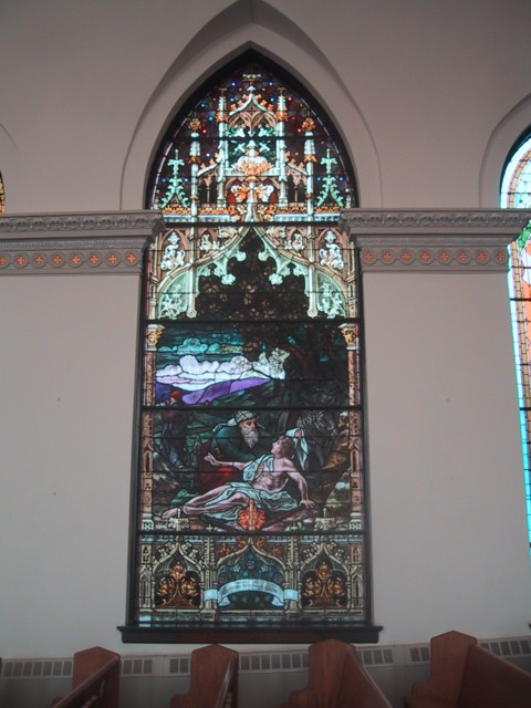 St. John's United Church of Christ, 41 22nd St, Wheeling, WV, Stained Glass Window, 2004