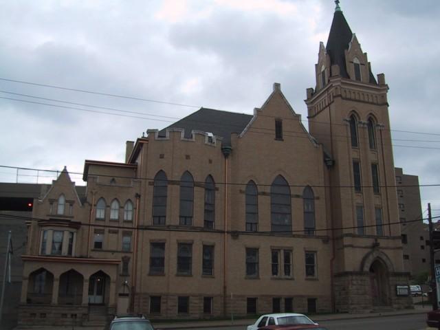 St. John's United Church of Christ, View From 22nd Street, Wheeling, WV, 2002
