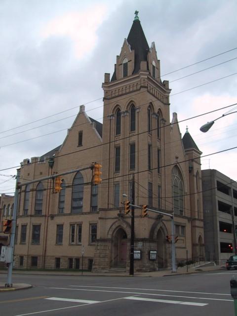 St. John's United Church of Christ, View From Chapline Street, Wheeling, WV, 2002