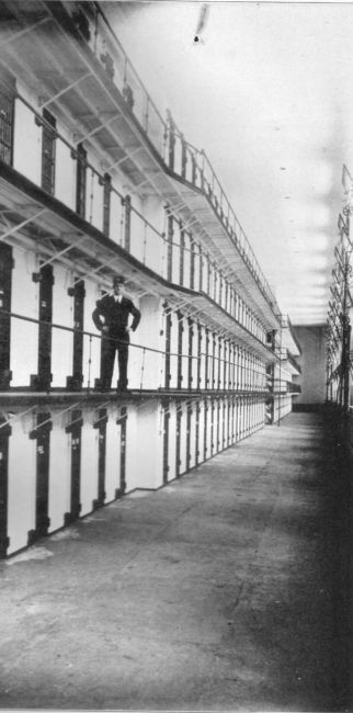 W. Va. Penitentiary Cell Block