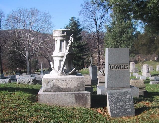 George H. Peppers monument
