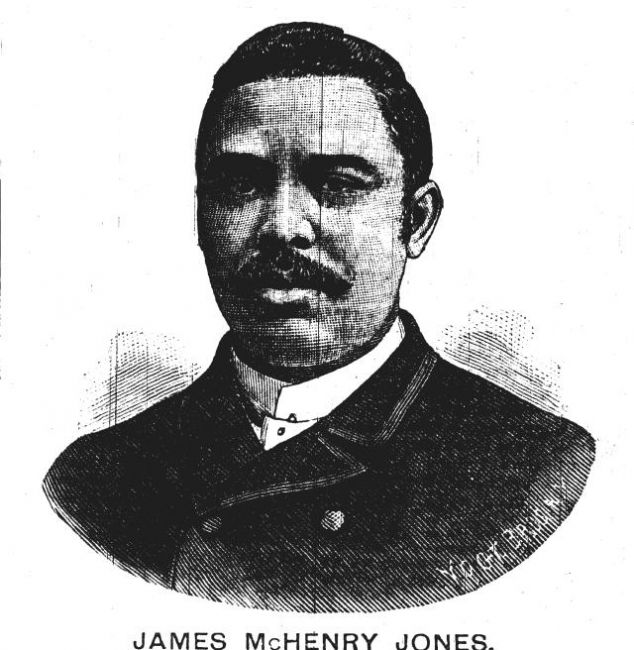 Engraving of James McHenry Jones
