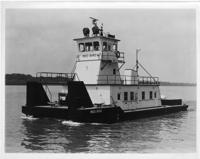Towboat Red Bird