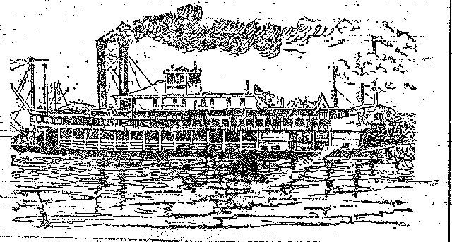 Drawing of the Virginia