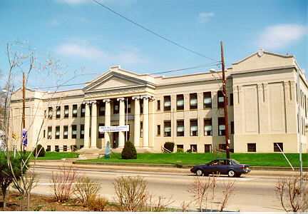Madison School, Wheeling Island, 1998. Photo by James Janos